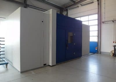acoustic-enclosure-coating-machine